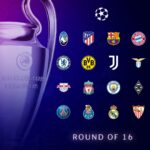 2020-21 UEFA Champions League; Knockout Stage; Fixtures, Scores & Results